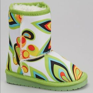 Green Shagadelic Loudmouth Boot by DAWGS